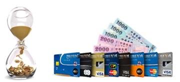 刷卡換現金,信用卡即時兌現